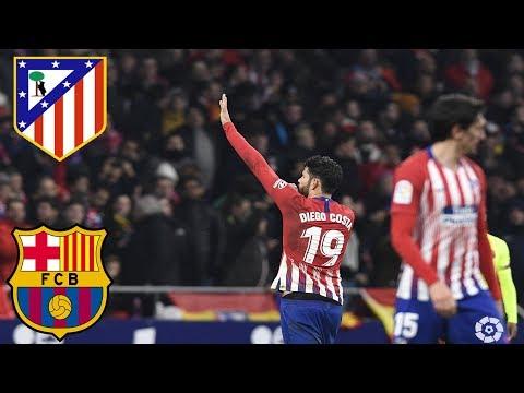 Full Match Atlético Madrid vs FC Barcelona LaLiga 2017 2018