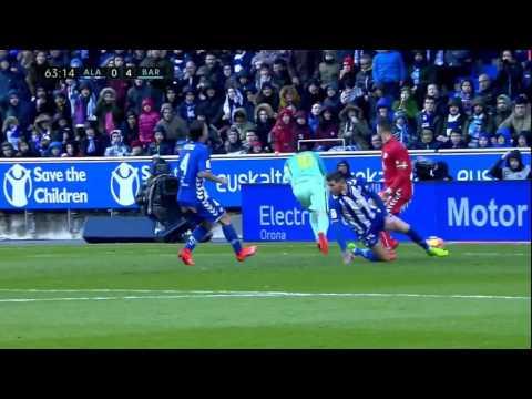 FC Barcelona vs Alavés 2016/17 (6-0)