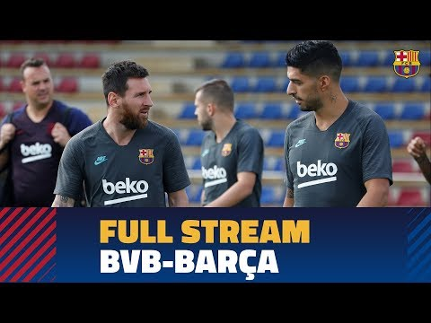 [FULL STREAM] Last workout before Champions League debut against Dortmund