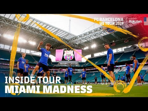 FIRST TRAINING SESSION… AND INSANE PARTY IN MIAMI | Inside Tour USA 2019 #2