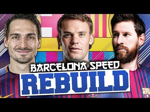 REBUILDING BARCELONA vs Rich Leigh (Speed Rebuild) – FIFA 18 Career Mode