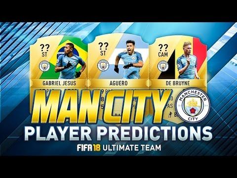 FIFA 18 | MANCHESTER CITY PLAYER RATINGS PREDICTIONS | w/ DE BRUYNE, GABRIEL JESUS & AGÜERO | FUT 18