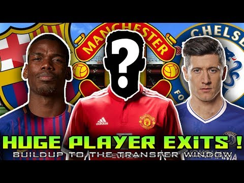 TRANSFER NEWS (2018) Pogba to Barcelona? Lewandowski to Chelsea? Alderweireld to Man Utd?