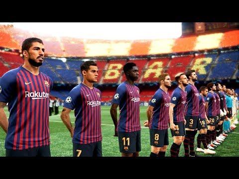 Barcelona vs Real Madrid | El Clasico | 28 October 2018 Gameplay