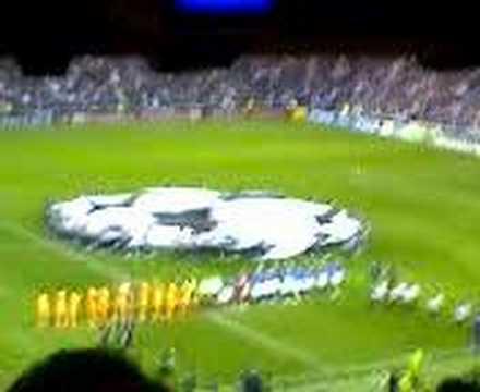 Rangers v Barcelona 23rd october 2007