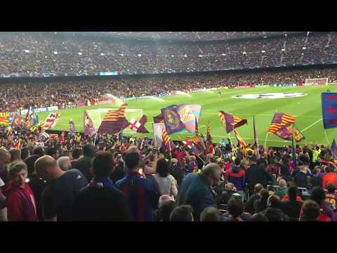 Barcelona 3-0 Liverpool | Fan Chants & Reactions