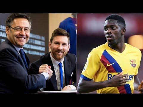 Barcelona News Round-Up ft Messi/Bartomeu's relationship & Ousmane Dembele