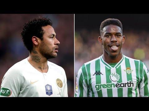 Barcelona News Round-up ft Neymar Jr & Junior Firpo
