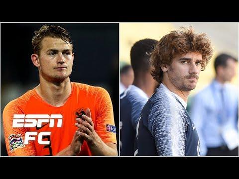 Will PSG throw big money at Matthijs de Ligt? Antoine Griezmann still Barca bound?   Transfer Talk