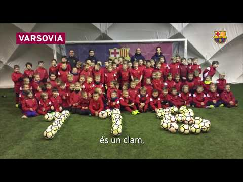 FC Barcelona 118 anniversary – Cant del Barça