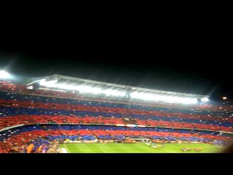Barcelona Anthem vs Real Madrid March 22, 2015