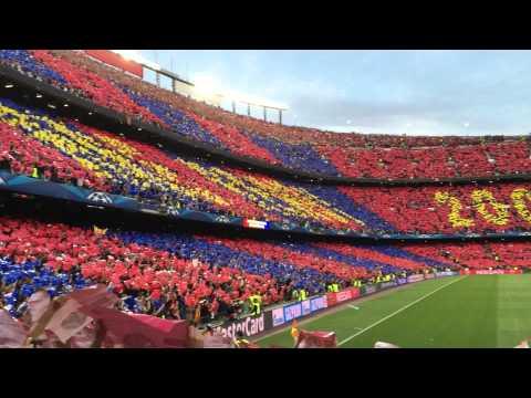 El Cant del Barça / Anthem – 06.05.2015 – FC Barcelona 3 – 0 Bayern Munich