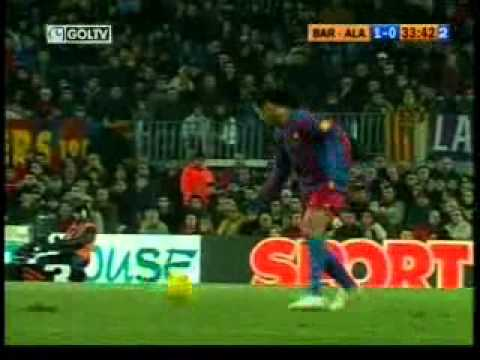 Ronaldinho vs Alaves 2005-06 [by Przydupniak]