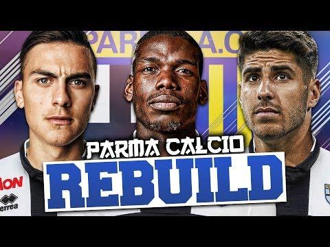 REBUILDING PARMA!!! FIFA 18 Career Mode