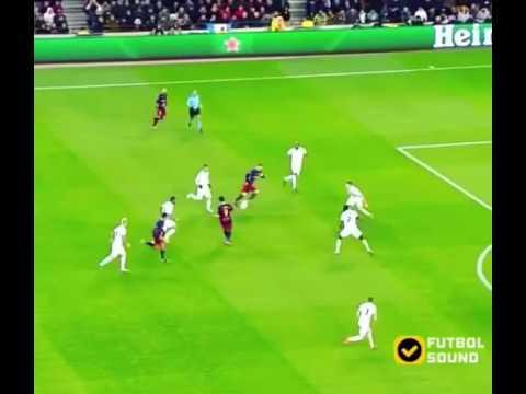 Barcelona 6-1 Roma | Champions League, Messi goal