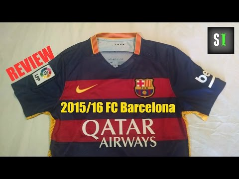 Nike FC Barcelona 2015/2016 Home Jersey Review!
