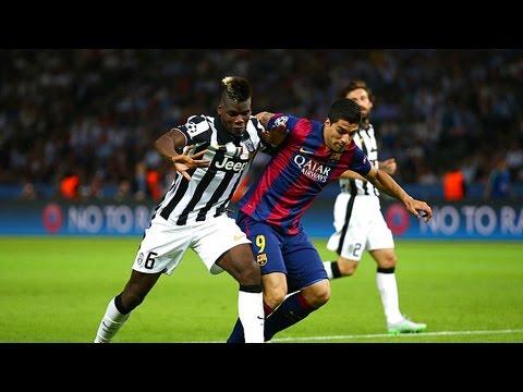 Paul Pogba vs Fc Barcelona (N) 2014-15 HD 1080i