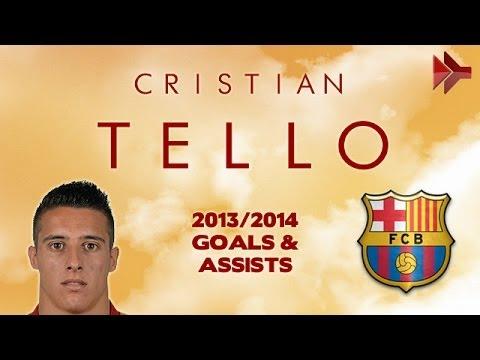 Cristian TELLO – Goals, Assists, Skills – FC Barcelona – 2012-2014 (HD)