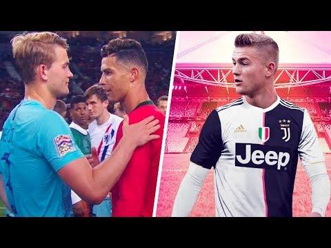 How Cristiano Ronaldo's words made De Ligt reject FC Barcelona – Oh My Goal