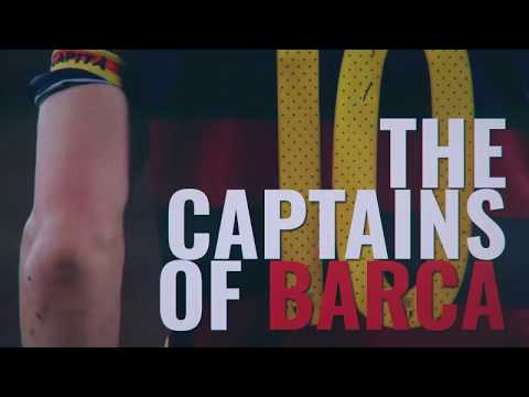The captains of Barcelona (1986-2018)