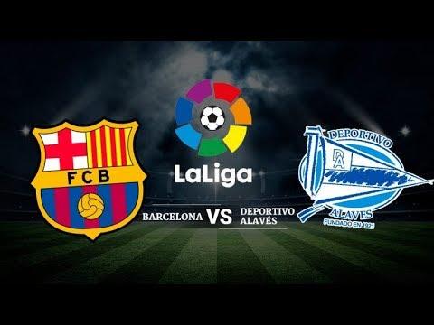 Barcelona vs Alaves – La Liga  |Highlights & Full Match – Pes 2019 – Game Pc