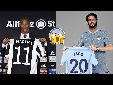 Latest Transfer News – Insane Transfers feat. Martial , Isco , Alaba