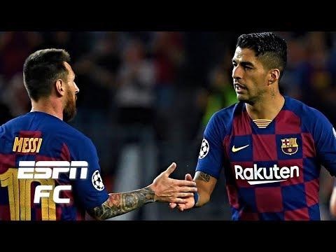 Barcelona vs. Inter Milan analysis: Suarez & Messi ease pressure on Valverde   UEFA Champions League