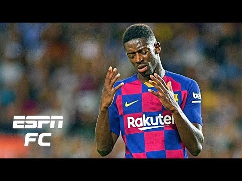 Did Barcelona's Ousmane Dembele deserve a red card for calling a referee 'very bad'? | La Liga