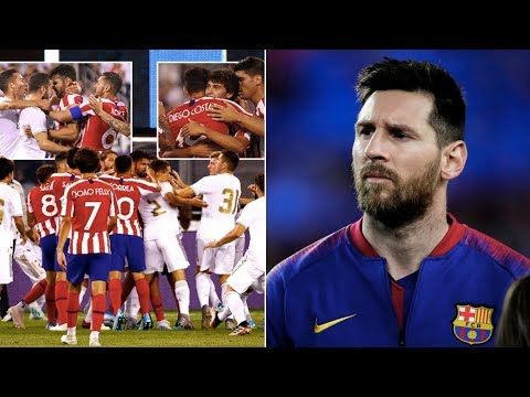 Barcelona News Round-Up ft Lionel Messi & Real Madrid vs Atletico (3-7!!)