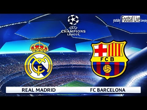 PES 2018 | Real Madrid vs Barcelona | UEFA Champions League (UCL) | Gameplay PC