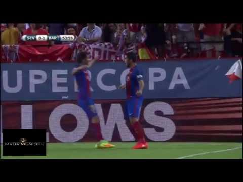 SUPERCOPA 2016 |  SEVILLA 0 – 2 BARCELONA | ALL Goals | HD