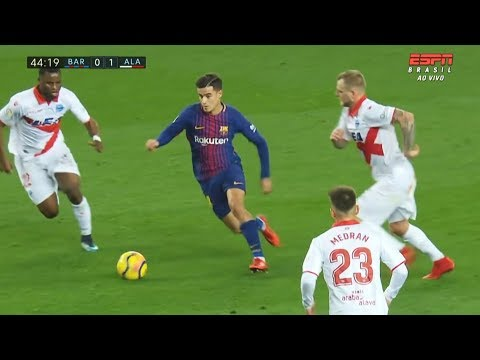 Philippe Coutinho vs Alavés HD 720p (28/01/2018)
