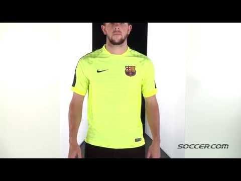 69045 Nike Barcelona Third Training Jersey 14/15 – Flash