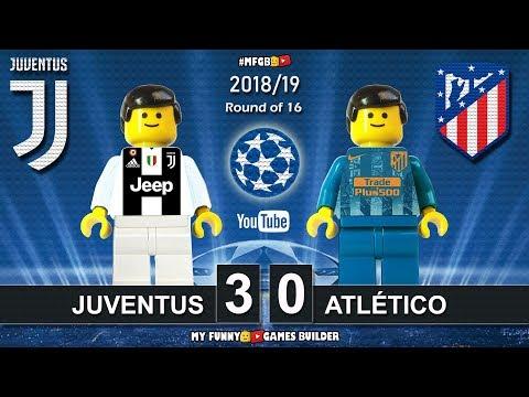 Juventus vs Atletico Madrid 3-0 • Champions League 2019 (12/03) All Goals Highlights Lego Football