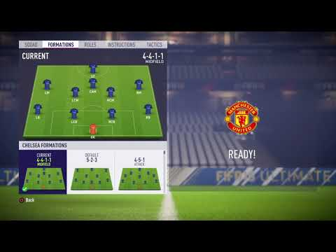 FIFA 18 Chelsea review – Best formation, Best tactics and instructions