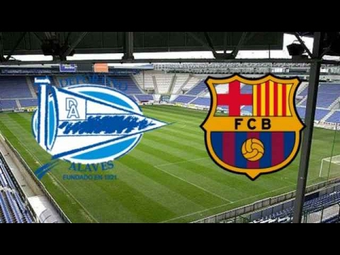 Alaves vs Barcelona – All Goals & Extended Highlights – EPL 12/02/2017 HD – pes 2017