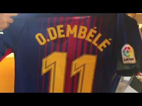 Minejerseys.com, FC Barcelona 17/18 kit and training kits Unboxing Review