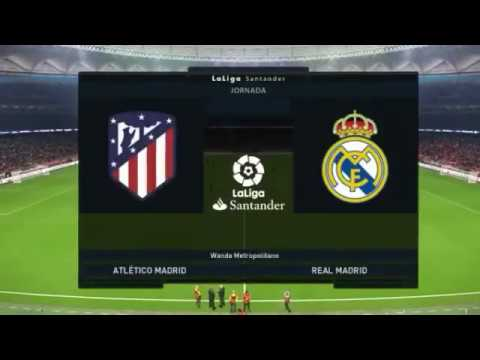 FIFA19 Real Madrid vs Atletico Madrid Prediction – Madrid Stedium fifa kalk Gameplay