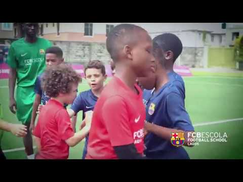 FCBEscola Lagos Evaluation Match highlight 14 April 2018