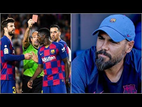 Barcelona News Round-Up ft Dembele's Red Card & Victor Valdes SACKED