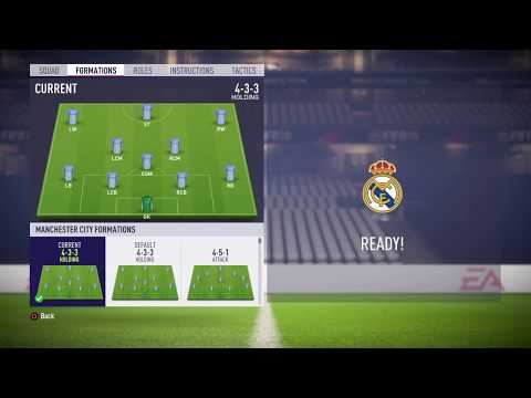FIFA 18 Manchester City review – Best formation, Best tactics and instructions