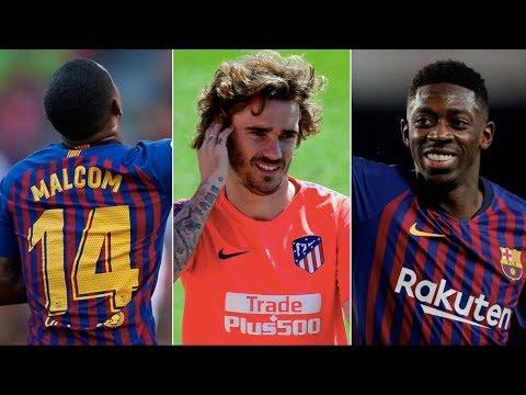 Barcelona News Round-up ft Ousmane Dembele, Antoine Griezmann & Malcom