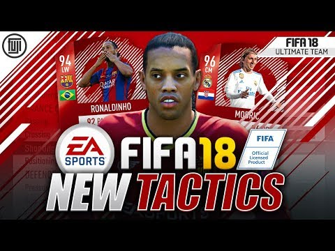 THE NEW FORMATION AND TACTICS! – FIFA 18 Ultimate Team