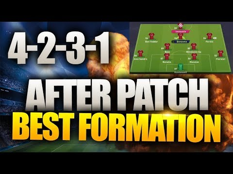 4-2-3-1 THE NEW BEST FORMATION- FIFA 18 ULTIMATE TEAM