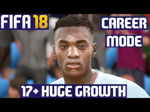 FIFA 18 Career Mode – All Young Players with HUGE Growth (Real Faces)