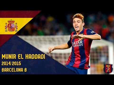 Munir El Haddadi 2014/2015 ● Barcelona B