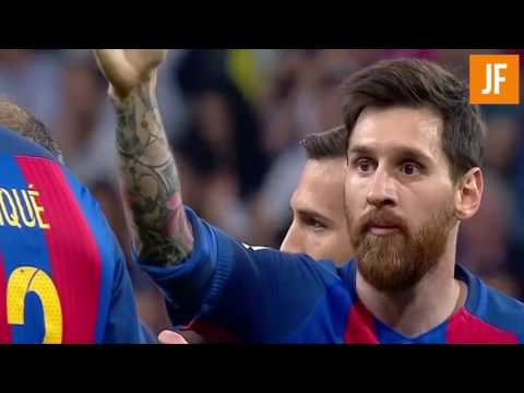 El Clasico 2017: Barcelona Vs Real Madrid 3-2. Full Match highlights.