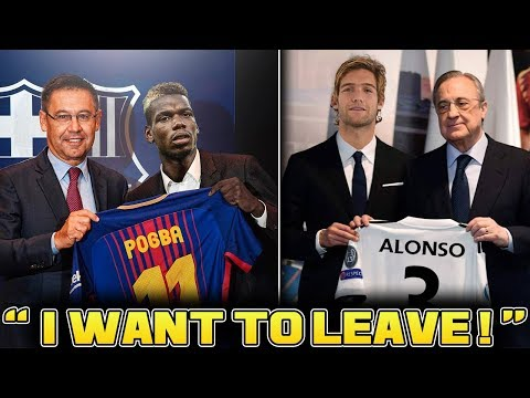 CONFIRMED Transfer News & Rumours 2018 ft Pogba to Barcelona & Alonso to Real Madrid