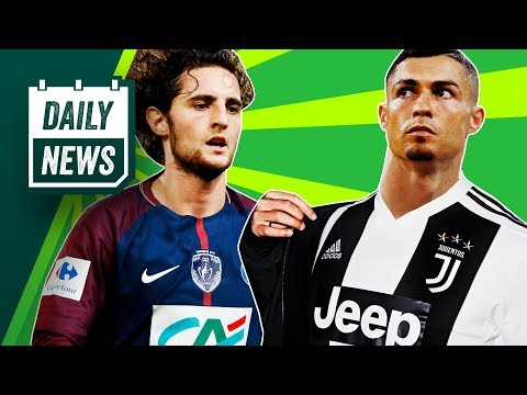 TRANSFER NEWS: Adrien Rabiot to Barcelona + Ronaldo's Tax Trouble ► Daily Football News