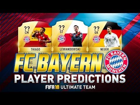 FIFA 18 | BAYERN MÜNCHEN PLAYER RATINGS PREDICTIONS | w/ NEUER, THIAGO & LEWANDOWSKI | FUT 18
